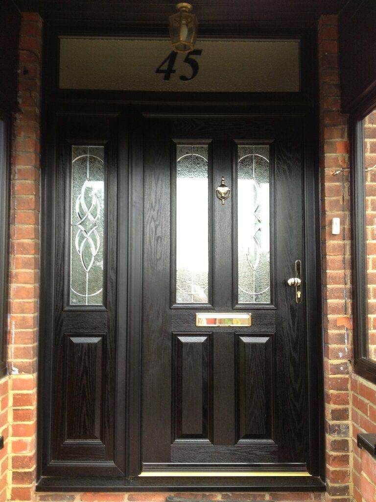 Composite Fitted Front Doors for Sale