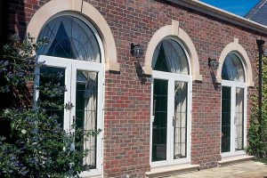 Arched Back Doors Installation