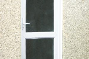 UPVC Frosted Door Installation