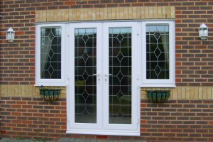 Patterned UPVC Front Doors