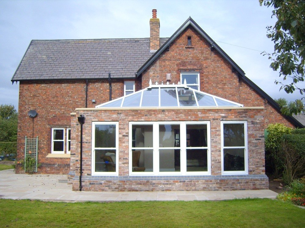 UPVC Orangery and Timber Orangery