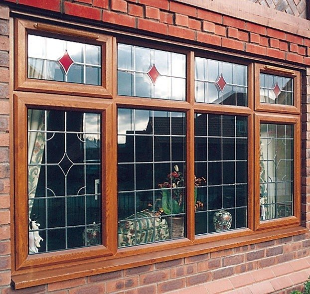 UPVC Wood Effect Windows