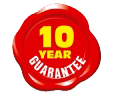 10 year home improvement service guarantee