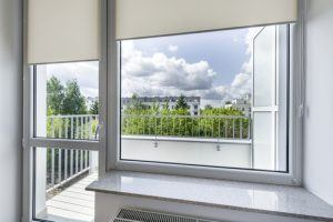 Double glazed window and door